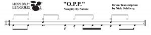 o-p-p-drum-sheet-music