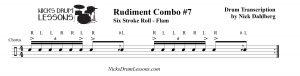 Rudiment Combo #7