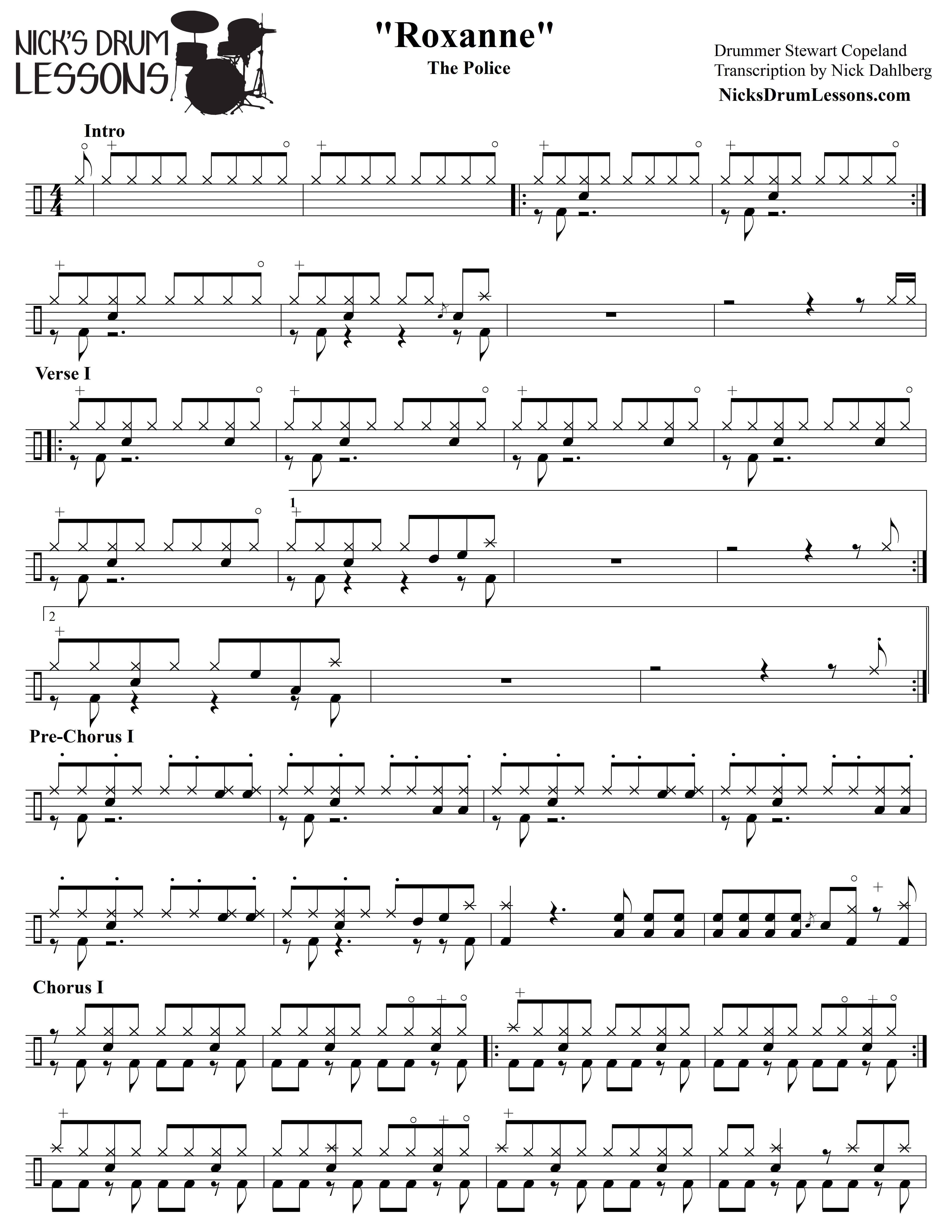 Drum Sheet Music Pdf
